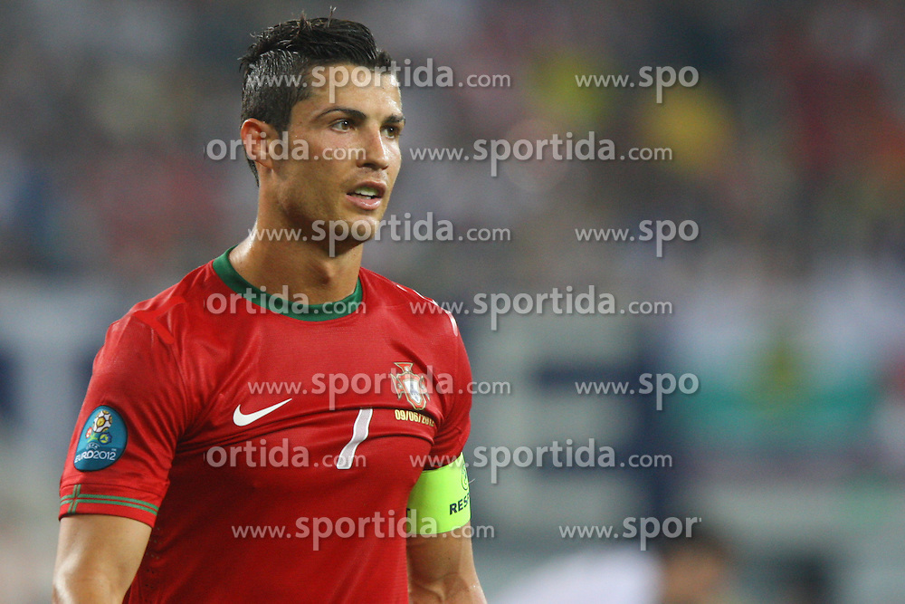09.06.2012, Arena Lwiw, Lemberg, UKR, UEFA EURO 2012, Deutschland vs Portugal, Gruppe B, im Bild CRISTIANO RONALDO (POR) // during the UEFA Euro 2012 Group B Match between Germany and Portugal at the Arena Lviv, Lviv, Ukraine on 2012/06/09. EXPA Pictures © 2012, PhotoCredit: EXPA/ Newspix/ Tomasz Jastrzebowski..***** ATTENTION - for AUT, SLO, CRO, SRB, SUI and SWE only *****