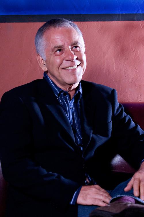 Belo Horizonte_MG, Brasil...Programa Tim Escritores em Belo Horizonte, na foto retrato da escritor  Nelson Motta...The Tim Escritores program in Belo Horizonte, in this photo the writer Nelson Motta...Foto: BRUNO MAGALHAES / NITRO