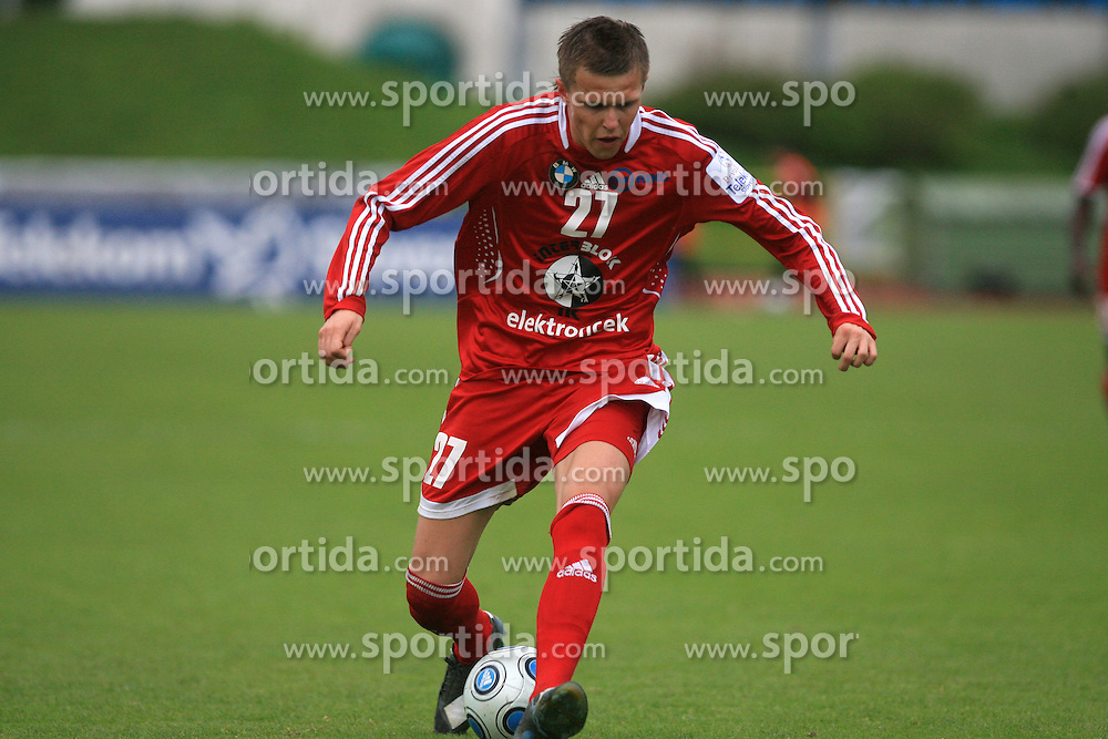 Josip Ilicic  of Interblock  at 29th Round of Slovenian First League football match between NK Interblock and NK Primorje at ZAK Stadium, on April 20, 2009, in Ljubljana, Slovenia. (Photo by Vid Ponikvar / Sportida)