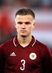 Latvia's Viktors Litvinskis