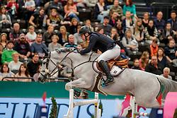 GULLIKSEN Geir (NOR), Gin Chin van het Lindenhof<br /> Leipzig - Partner Pferd 2020<br /> Championat von Leipzig<br /> Springprfg. mit Stechen, international<br /> Höhe: 1.50 m<br /> 18. Januar 2020<br /> © www.sportfotos-lafrentz.de/Stefan Lafrentz