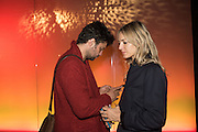Conrad Shawcross; Carolina Mazzolari,  Blain|Southern Bill Viola party at The Vinyl Factory Space, Brewer Street Car Park  after his opening A Celebration in Honour of Bill Viola, Blain Southern, Hanover Sq. London. 12 October 2015