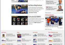 Berry Van Driel, Kaliam Sams, Rick Vandenhurk, Curtis Granderson, Major League Baseball Home page feature, 2013.