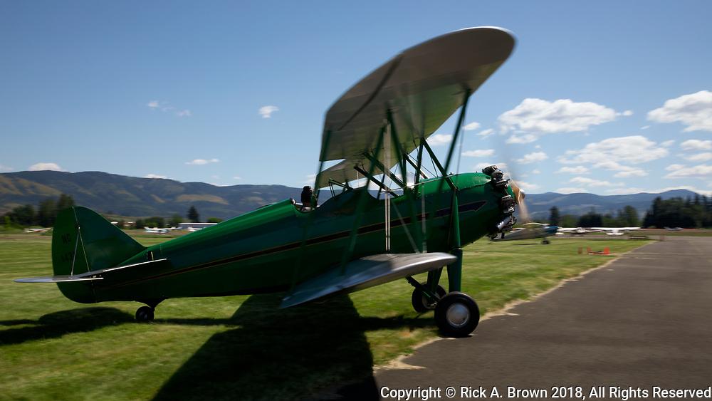 1931 Waco RNF preparing for flight at WAAAM.