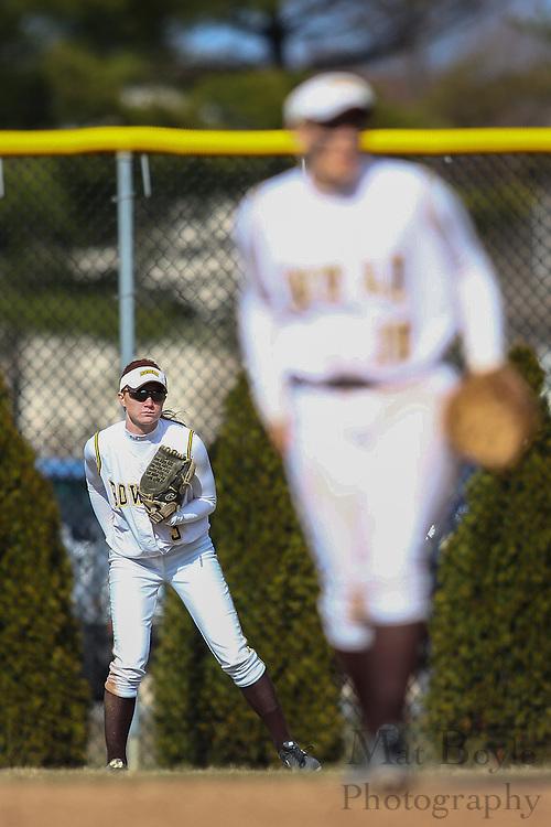 Rowan University Softball Sophomore Catcher/Outfielder Katie Bussman (3) - Ursinus College Softball vs Rowan University at Rowan University's Softball Field in Glassboro, NJ on Wednesday March 27, 2013. (photo / Mat Boyle)