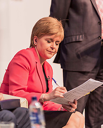 First Minister of Scotland Nicola Sturgeon MSP speaking at a public discussion in Edinburgh for EU nationals living in Scotland<br /> <br /> (c) John Baguley | Edinburgh Elite media