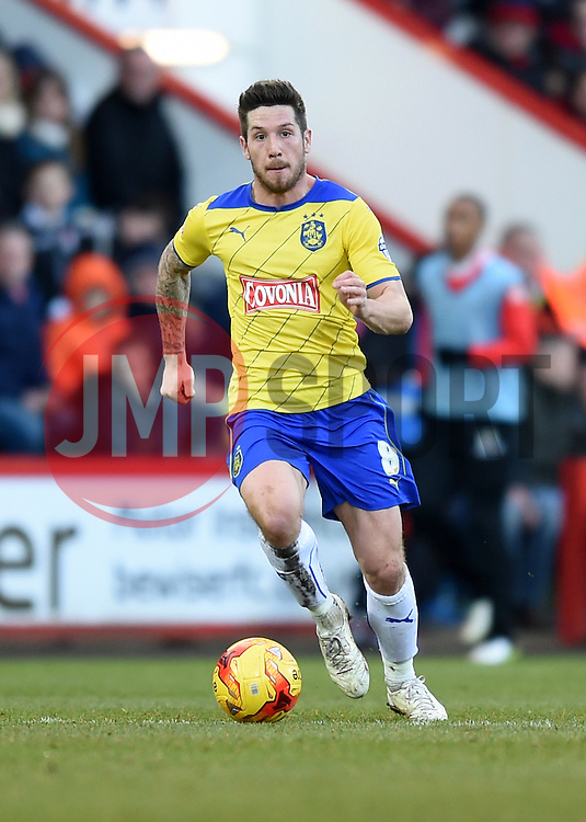 Huddersfield Town's Jacob Butterfield in action during the Sky Bet Championship match between AFC Bournemouth and Huddersfield Town at Goldsands Stadium on 14 February 2015 in Bournemouth, England - Photo mandatory by-line: Paul Knight/JMP - Mobile: 07966 386802 - 14/02/2015 - SPORT - Football - Bournemouth - Goldsands Stadium - AFC Bournemouth v Huddersfield Town - Sky Bet Championship