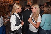 ELLY DAYA; EKATERINA KAZAKOVA, Afternoon tea to  celebrate the addition of the Naked Heart Dessert to Russian restaurant Mari Vanna's menu,  Mari Vanna, 116 Knightsbridge, London, SW1X 7PJ. August 29 2012.