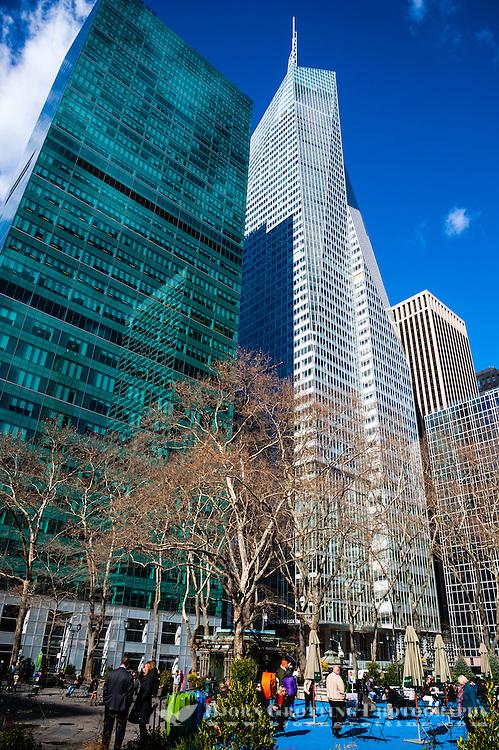 US, New York City. Bryant Park