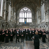 Cambridge Philharmonic Orchestra;<br /> Tim Redmond with Cambridge Chorus;<br /> Ely Cathedral, Ely;<br /> 11th July 2015.<br /> <br /> © Pete Jones<br /> pete@pjproductions.co.uk