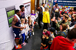 Fan Autographs after Bristol Flyers win 92-72 - Rogan/JMP - 11/10/2019 - BASKETBALL - SGS Wise Arena - Bristol, England - Bristol Flyers v Plymouth Raiders - BBL Cup.
