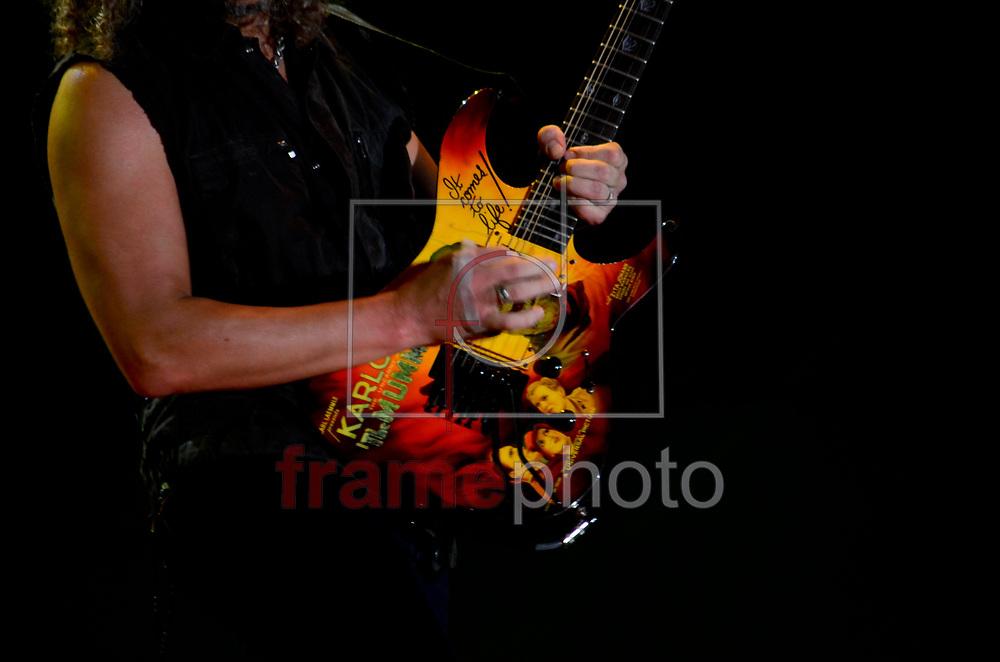ROCK IN RIO METALICA - RIO DE JANEIRO - 19/09/2013 - Apresentação da banda Metalica no Palco Mundo na cidade do Rock, zona oeste do Rio de Janeiro neste quarto dia de evento. FOTO: ADRIANO ISHIBASHI/FRAME