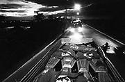 Caminhão transporta os corpos das vítimas do massacre do Eldorado dos Carajás - 1998..Truck transports the victims' of the massacre of Eldorado of Carajás bodies - 1998.