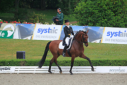 Muller Sophia Aiko (SUI) - Laser III<br /> European Championships Young Riders 2010<br /> © Hippo Foto - Leanjo de Koster