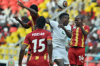 FOOTBALL - AFRICAN NATIONS CUP 2010 - GROUP B - BURKINA FASO v GHANA - 19/01/2010 - PHOTO MOHAMED KADRI / DPPI - MAMADOU TALL (BUR) / MATTHEW AMOAH (GHA)