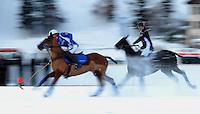 Polosport  World Cup on Snow 2010 Poloturnier St Moritz 2010 FEATURE; Team  JULIUS BAER - Team BRIONI