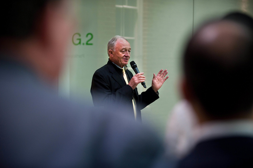 Mayoral candidate for London Mayor 2012, Ken Livingstone, meets UNISON members during his campaign.