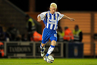 Fotball<br /> England<br /> Foto: Colorsport/Digitalsport<br /> NORWAY ONLY<br /> <br /> David Perkins (Colchester). Colchester United Vs Leicester City. Coca Cola League 1. Weston Homes Community Stadium. Colchester. 30/09/2008.