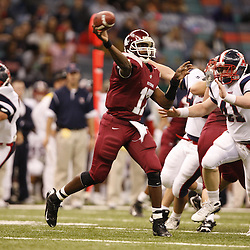 2008 December 13: During the Class 5A LHSAA State Championship game, between the Destrehan Wildcats and the West Monroe Rebels at the Louisiana Superdome in New Orleans, LA (photo by Derick Hingle/Nola.com)