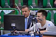 DESCRIZIONE : Beko Legabasket Serie A 2015- 2016 Playoff Quarti di Finale Gara3 Dinamo Banco di Sardegna Sassari - Grissin Bon Reggio Emilia<br /> GIOCATORE : Gianluca Mattioli<br /> CATEGORIA : Arbitro Referee Before Pregame Instant Replay<br /> SQUADRA : AIAP<br /> EVENTO : Beko Legabasket Serie A 2015-2016 Playoff<br /> GARA : Quarti di Finale Gara3 Dinamo Banco di Sardegna Sassari - Grissin Bon Reggio Emilia<br /> DATA : 11/05/2016<br /> SPORT : Pallacanestro <br /> AUTORE : Agenzia Ciamillo-Castoria/L.Canu