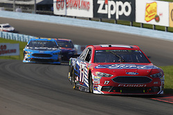 August 5, 2018 - Watkins Glen, New York, United States of America - Ricky Stenhouse, Jr (17) brings his car through the turns during the Go Bowling at The Glen at Watkins Glen International in Watkins Glen , New York. (Credit Image: © Chris Owens Asp Inc/ASP via ZUMA Wire)