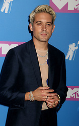 August 20, 2018 - New York City, New York, U.S. - Rapper G-EAZY attends the arrivals for the 2018 MTV 'VMAS' held at Radio City Music Hall. (Credit Image: © Nancy Kaszerman via ZUMA Wire)