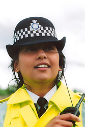 Female police officer; Bradford; Yorkshire UK