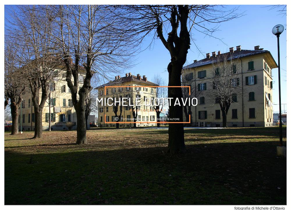 edilizia popolare  Villaggio Snia, corso Vercelli, 1924-1927, quartiere di Barriera di Milano