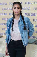 Cindy kimberly attends the presentation of the new collection of clothes designed between the Spanish pilot Marc Marquez and Pull & Beard in Madrid, Spain. March 30, 2017. (ALTERPHOTOS / Rodrigo Jimenez)