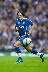 LONDON, ENGLAND - Saturday, May 17, 2008: Portsmouth's Milan Baros in action against Cardiff City during the FA Cup Final at Wembley Stadium. (Photo by David Rawcliffe/Propaganda)