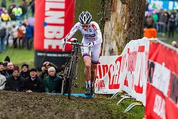 Sanne Cant (BEL), Women, Cyclo-cross World Cup Hoogerheide, The Netherlands, 25 January 2015, Photo by Thomas van Bracht / PelotonPhotos.com
