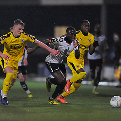 TELFORD COPYRIGHT MIKE SHERIDAN 5/3/2019 - during the National League North fixture between AFC Telford United and Darlington at the New Bucks Head Stadium