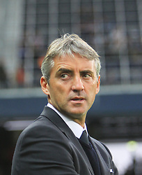 16.09.2010, Red Bull Arena, Salzburg, AUT, UEFA EL, Red Bull Salzburg vs Manchester City, im Bild Roberto Mancini (ITA), Headcoach, Manchester City, EXPA Pictures © 2010, PhotoCredit: EXPA/ D. Scharinger / SPORTIDA PHOTO AGENCY