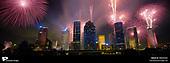 Fireworks shot on film