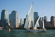 Black Watch racing in the Liberty Race during New York Classic Week