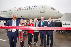 Delta launching year-round nonstop service from Edinburgh to New York-JFK today at Edinburgh Airport.