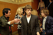 Nicky Haslam, Jerry Hall, Mick Jagger and Bill Wyman. Nicky Haslam celebrated his birthday by throwing a party for Jerry Hall. dorchester Club. 1 October 2000. © Copyright Photograph by Dafydd Jones 66 Stockwell Park Rd. London SW9 0DA Tel 020 7733 0108 www.dafjones.com