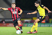 Bournemouth midfielder Ryan Fraser on the ball during the EFL Cup match between Burton Albion and Bournemouth at the Pirelli Stadium, Burton upon Trent, England on 25 September 2019.