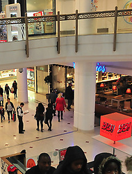 © Licensed to London News Pictures. 26/12/2015<br />Police have arrested a man in the Intu shopping centre in Bromley,Kent. Armed police were called after getting reports of a man attacking people with a large machete.<br />(Byline:Grant Falvey/LNP)