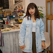 Katy andoh @inspiremekoko attends the Threads & Co Beauty launches permanent retail concept store everything from coffee to beauty to retail therapy on 24th May 2017. by See Li