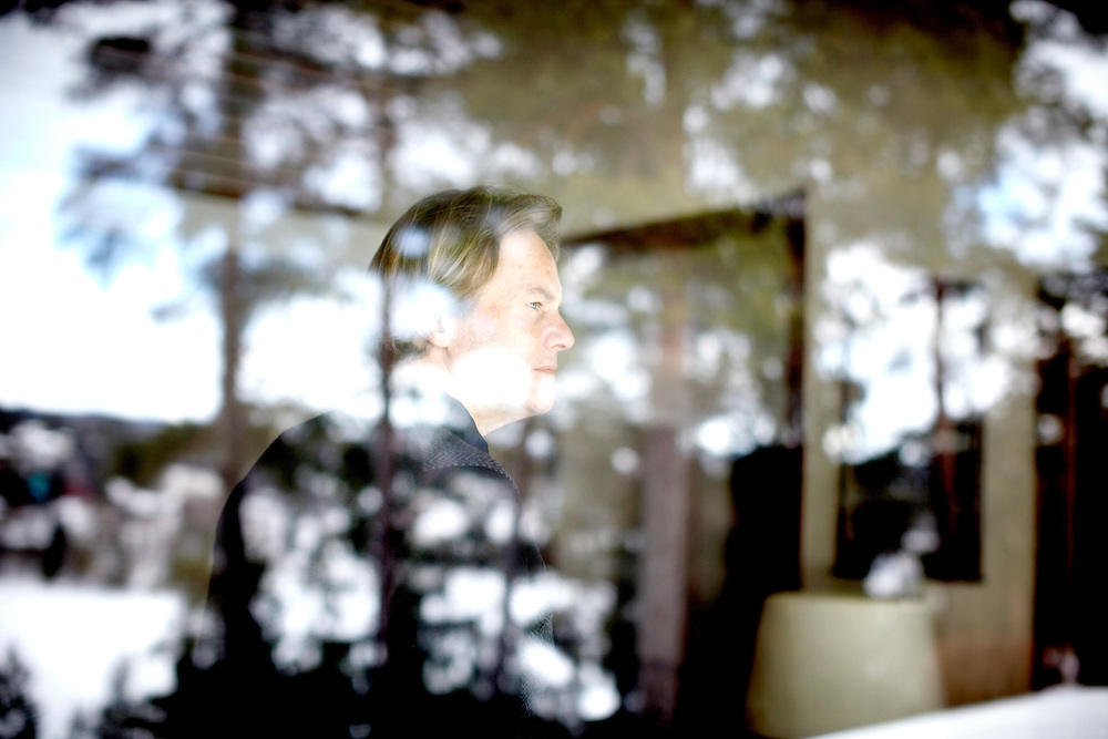 Portraits of Odd Petter Magnussen in his home just outside Oslo, Norway...Mr. Magnussen is the father of Martine Vik Magnussen who was murdered in London March 14th 2008. The prime suspect Farouk Abdulhak, the son of billionaire and one of Yemen's wealthiest men, Shaher Abdulhak, ran away and is currently in Yemen who has no extradition agreement with the UK...Photo by: Eivind H. Natvig/MOMENT