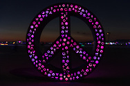 Symbolic Peace by: Mathew Rosenblatt from: Toronto, ON year: 2018 My Burning Man 2018 Photos:<br />