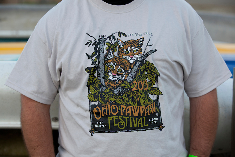 The Paw Paw Festival at lake Snowden in Albany, Ohio on September 14, 2013.