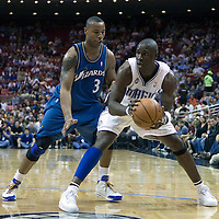 NBA - ORLANDO (USA) - 08/11/2008 -  .ORLANDO MAGIC V WASHINGTON WIZARDS (106-81) - MICKAEL PIETRUS / ORLANDO MAGIC, CARON BUTLER / WASHINGTON WIZARDS