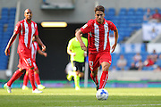 Denis Suárez of Sevilla during the Pre-Season Friendly match between Brighton and Hove Albion and Sevilla at the American Express Community Stadium, Brighton and Hove, England on 2 August 2015. Photo by Phil Duncan.