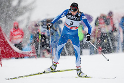 Anne Kyllonen of Finland during women 9 km pursue race at the cross country Tour de Ski 2014 of the FIS cross country World cup competition on January 5th, 2014 in Alpe Cermis, Val di Fiemme, Italy. (Photo by Urban Urbanc / Sportida)
