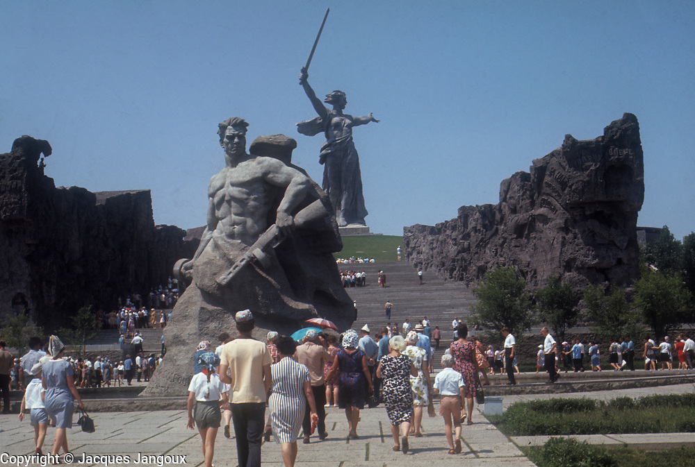 USSR 1968. Volgograd. Memorial to the Battle of Stalingrad.
