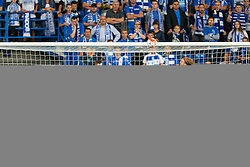 29.07.2015, INEA Stadion, Poznan, POL, UEFA CL, Lech Poznan vs FC Basel, Qualifikation, 3. Runde, Hinspiel, im Bild DENIS THOMALLA KAROL LINETTY LUKASZ TRALKA // during the UEFA Champions League Qualifier, third round, first Leg match between Lech Posen and FC Basel at the INEA Stadion in Poznan, Poland on 2015/07/29. EXPA Pictures © 2015, PhotoCredit: EXPA/ Newspix/ Radoslaw Jozwiak<br /> <br /> *****ATTENTION - for AUT, SLO, CRO, SRB, BIH, MAZ, TUR, SUI, SWE only*****