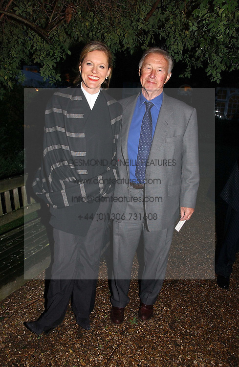 SIR TERENCE & LADY CONRAN at the annual Chelsea Flower Show dinner hosted by jewellers Cartier at the Chelsea Pysic Garden, London on 22nd May 2006.<br /><br />NON EXCLUSIVE - WORLD RIGHTS