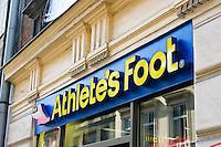Athlete's Foot shoe shop in Krakow Poland